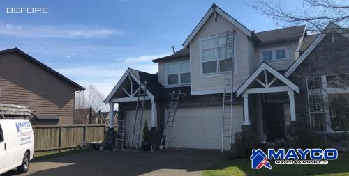 Exterior Painting Project Before 134