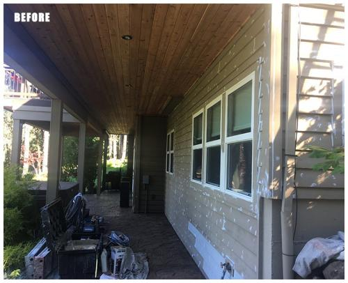 Exterior Painting Project - Before 122