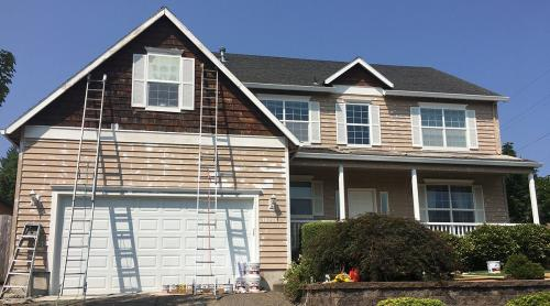 1 -Exterior Painting Project - Before 121